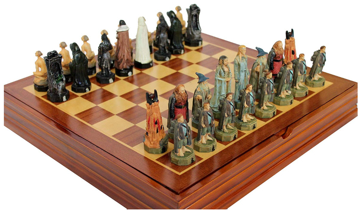Artschess Lord of the Rings with Resin Pieces