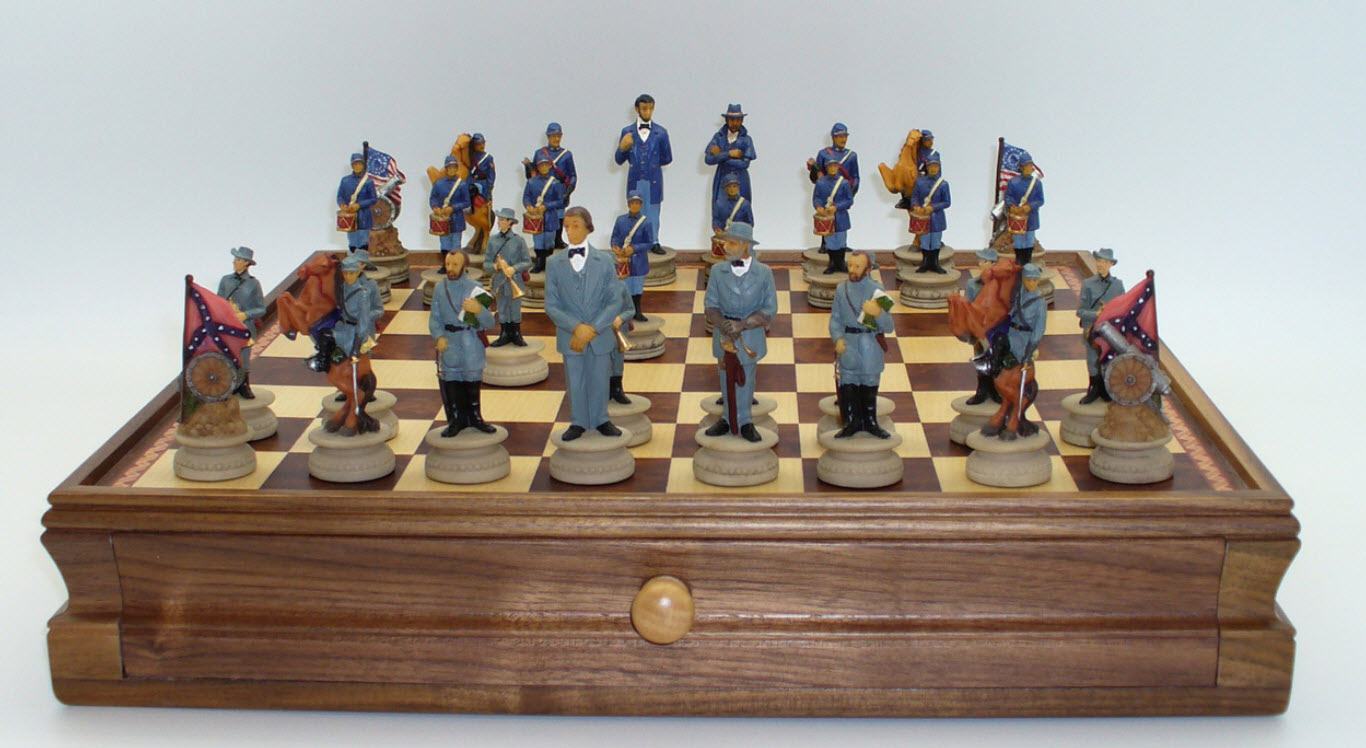 Civil War Chess Sets