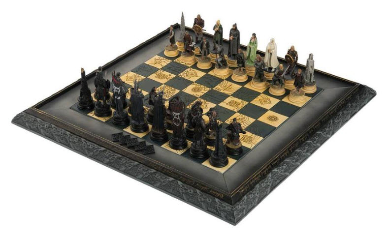 Eaglemoss LOTR Chess Collection Complete Set