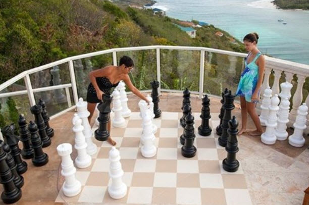 Giant Chess Set by MegaChess