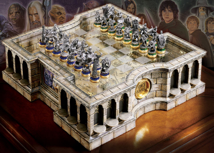 Lord of the Rings Chess Sets