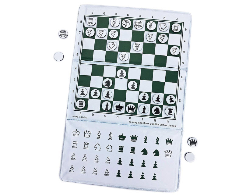 Magnetic Mini Pocket Travel Chess Set