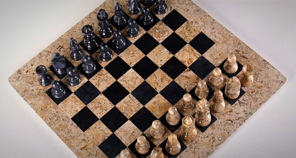Marble and Stone Chess Sets