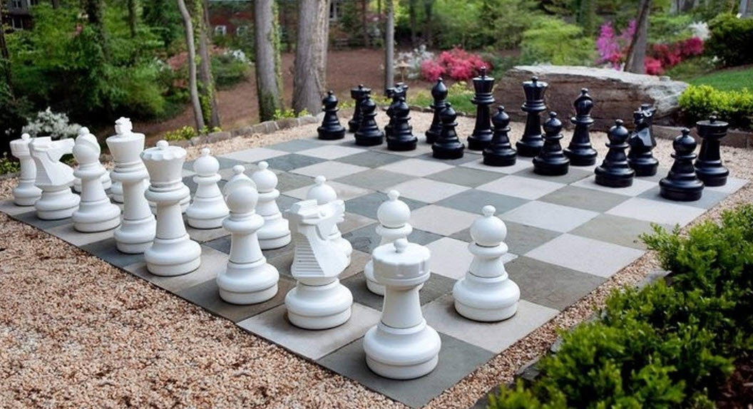 MegaChess Giant Premium Chess Pieces