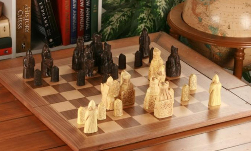 Isle of Lewis Chess Set with Presentation Box