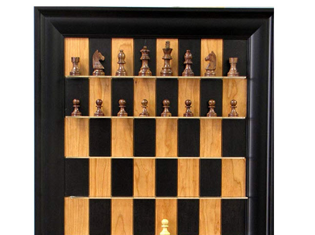 Rosewood Chess Set By Straight Up