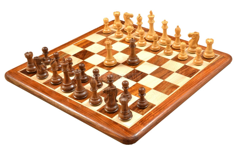Desert Gold Chess Men Set