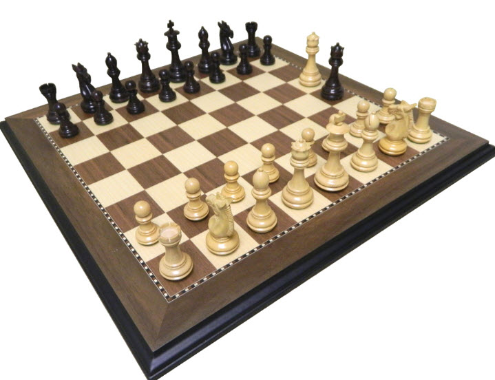 Cardinal Rosewood Presidential Chess Set