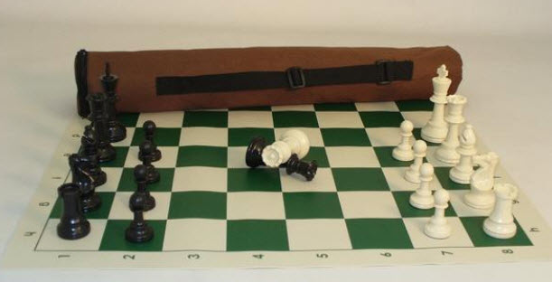 First Chess Set With Chess Men