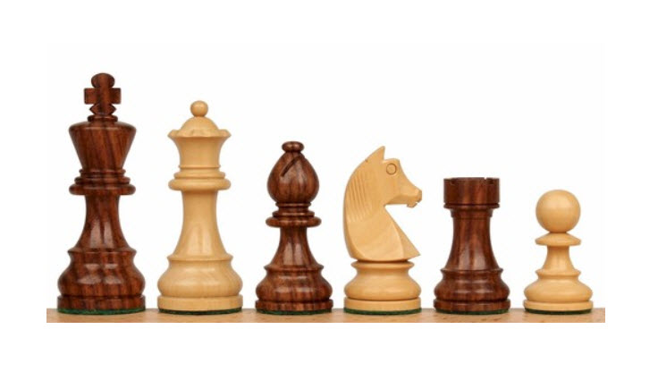 German Knight Staunton Chess Set