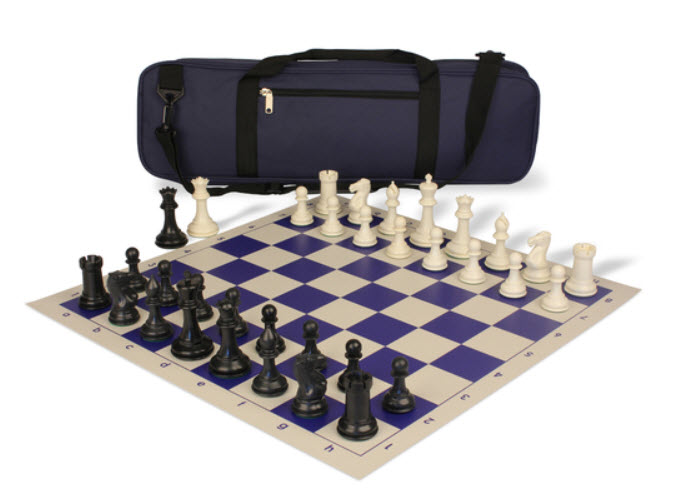 Conqueror Carry-All Plastic Chess Set