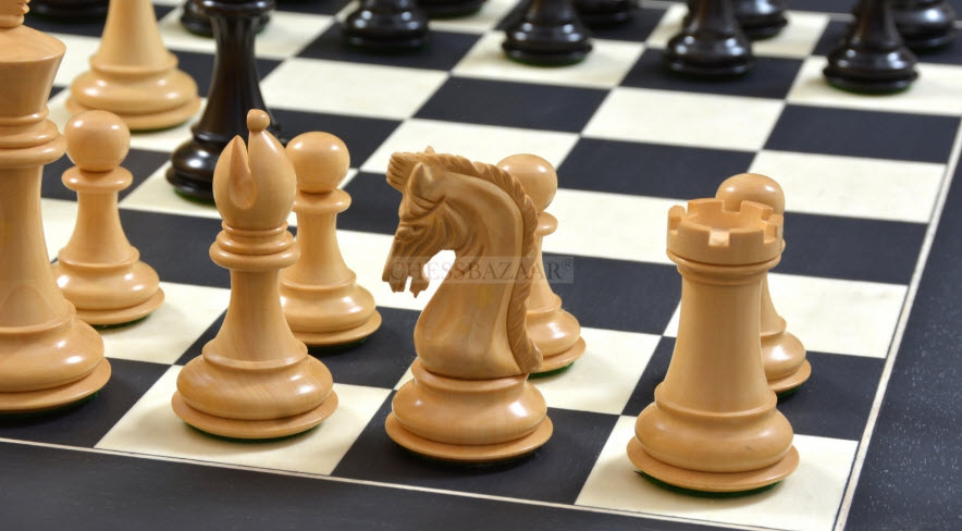 The combo of Caballus Staunton Series Chess Pieces