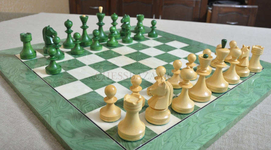 Combo of Reproduced Russian (Soviet Era) Series Chess Set
