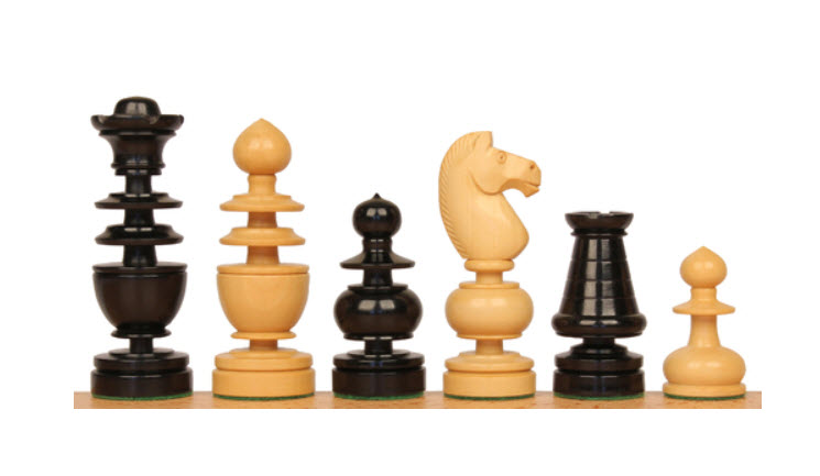 French Regency Antique Reproduction Chess Set