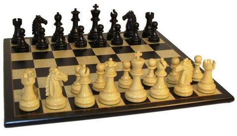chessboard set up