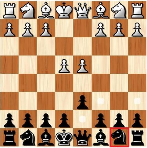 how knight moves in chess
