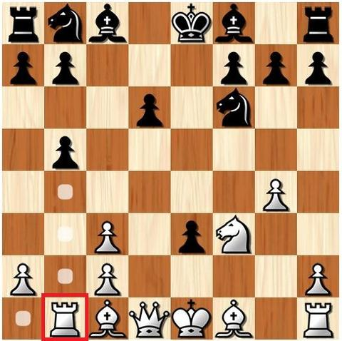 how rook moves in chess